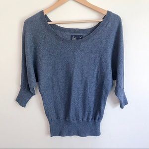 AMERICAN EAGLE OUTFITTERS Scoop Neck 3/4 Dolman XS